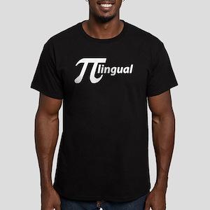 PiLingual Men's Fitted T-Shirt (dark)