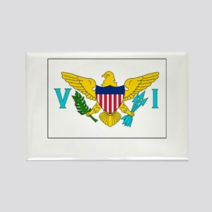 The United States Virgin Islands Flag Picture Rect