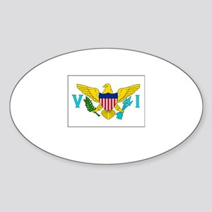 The United States Virgin Islands Flag Picture Stic