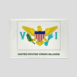The United States Virgin Islands Flag Stuff Rectan