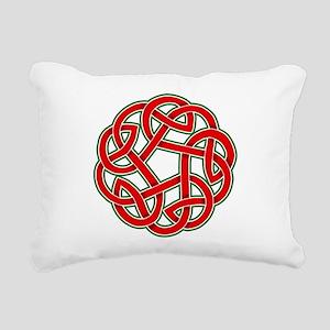 Celtic Christmas Knot Rectangular Canvas Pillow