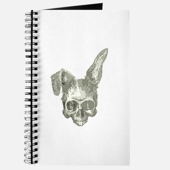 Bunny skull Journal