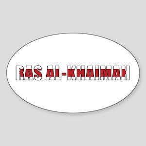 Ras al-Khaimah Oval Sticker