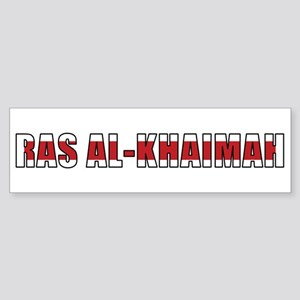 Ras al-Khaimah Bumper Sticker