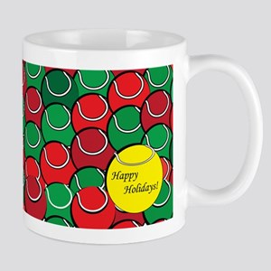 Tennis Holiday Mug