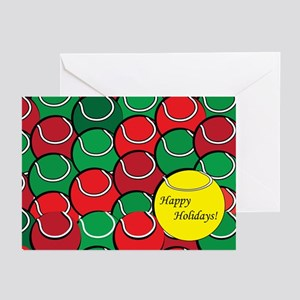 Tennis Holiday Greeting Cards (Pk of 20)