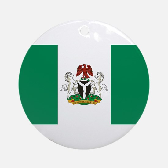 Nigeria - State Flag - Current Round Ornament
