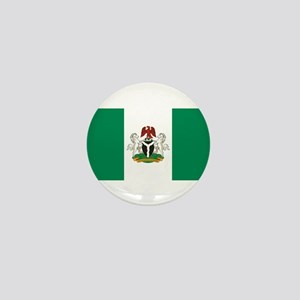 Nigeria - State Flag - Current Mini Button