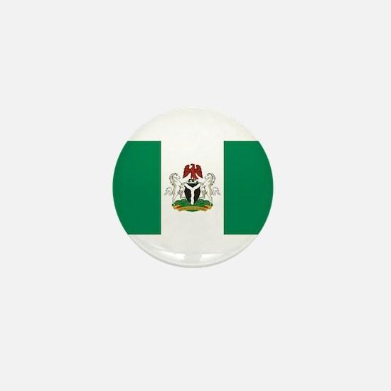 Nigeria - State Flag - Current Mini Button
