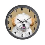 Lhasa Apso Wall Clock