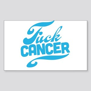 Fuck Cancer Sticker (Rectangle)