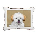 Lhasa Apso Rectangular Canvas Pillow