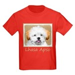 Lhasa Apso Kids Dark T-Shirt