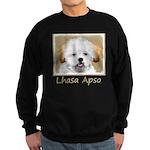 Lhasa Apso Sweatshirt (dark)