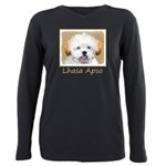 Lhasa Apso Plus Size Long Sleeve Tee