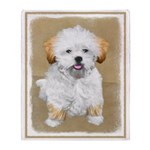 Lhasa Apso Throw Blanket