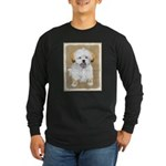 Lhasa Apso Long Sleeve Dark T-Shirt