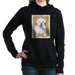 Lhasa Apso Women's Hooded Sweatshirt