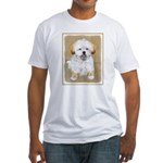 Lhasa Apso Fitted T-Shirt