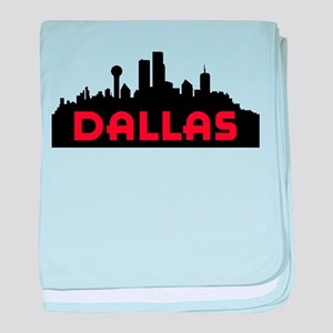 Dallas Slyline baby blanket