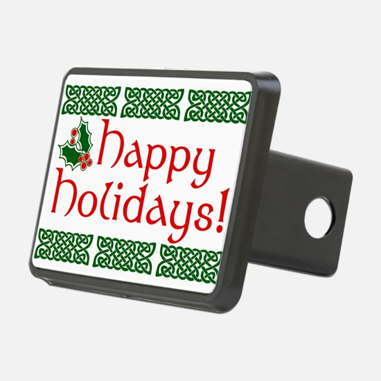 Happy Holidays Hitch Cover