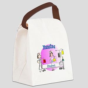 Nursing student BAG 1 Canvas Lunch Bag