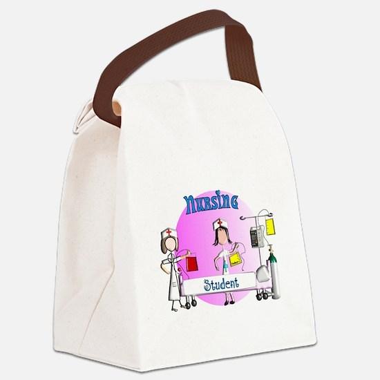 Nursing student BAG 1.PNG Canvas Lunch Bag