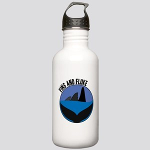 Fins And Fluke Stainless Water Bottle 1.0L