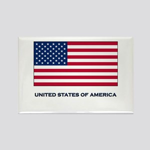 The United States Of America Flag Merchandise Rect