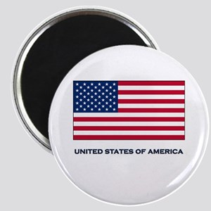 The United States Of America Flag Merchandise Magn