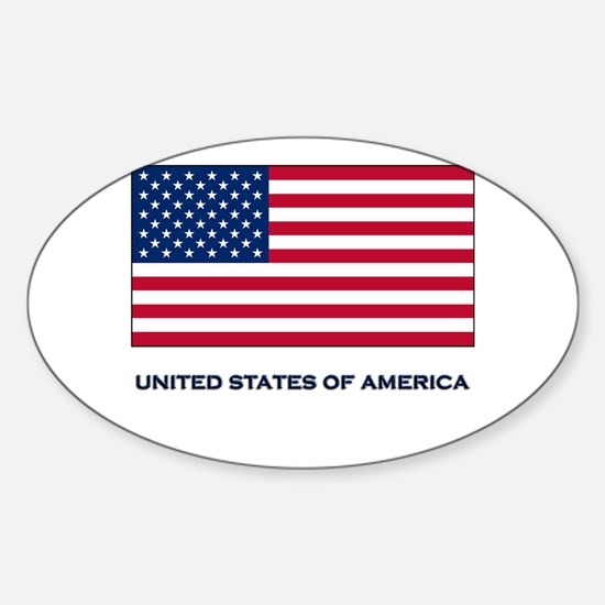 The United States Of America Flag Merchandise Stic