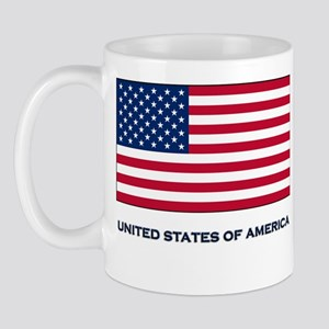 The United States Of America Flag Merchandise Mug
