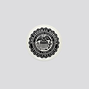 Federal Reserve Seal Mini Button