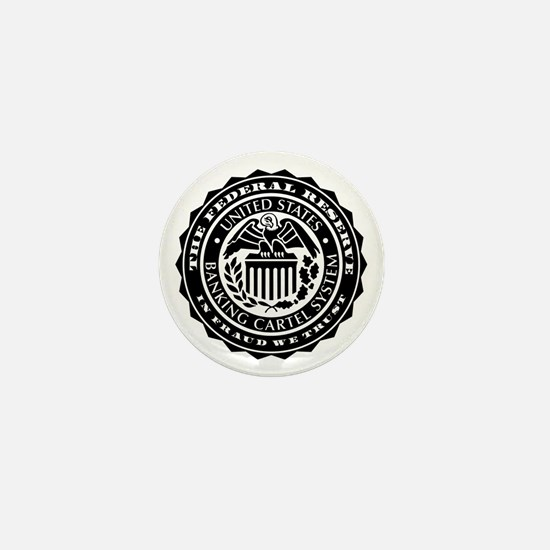 Federal Reserve Seal Mini Button