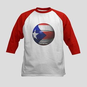 Puerto Rican Basketball Kids Baseball Jersey