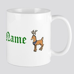 Personalized Reindeer Mug