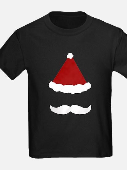 Mustache Santa T