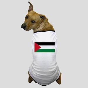 Palestine - Natinal Flag - Current Dog T-Shirt
