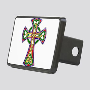 Primary Celtic Cross Rectangular Hitch Cover