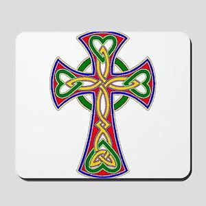 Primary Celtic Cross Mousepad