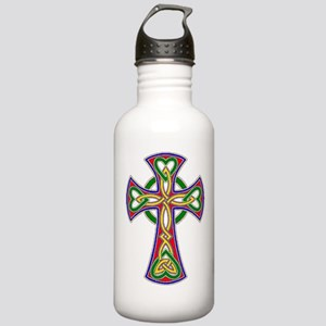 Primary Celtic Cross Stainless Water Bottle 1.0L