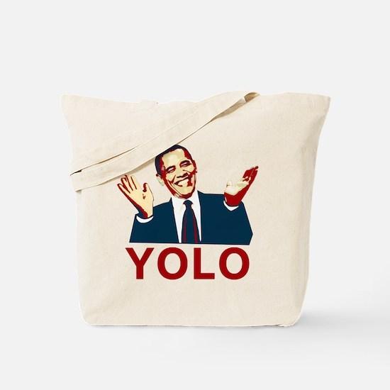 Obama YOLO Tote Bag