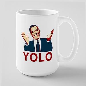 Obama YOLO Large Mug