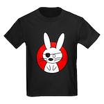 The Rabbit Pirate Kids Dark T-Shirt