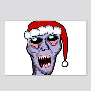 Santa Zombie Postcards (Package of 8)