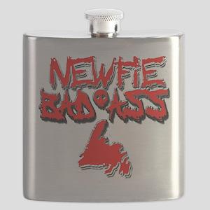 Newfie Bad Ass Flask