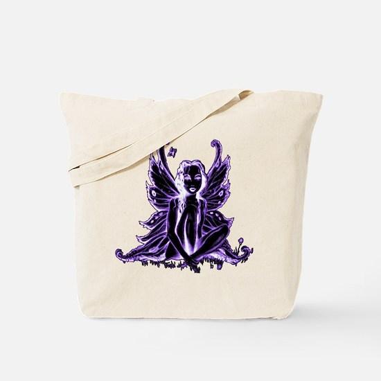 Purple Fairy Tote Bag
