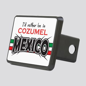 Cozumel Mexico Rectangular Hitch Cover