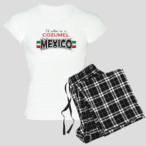 Cozumel Mexico Women's Light Pajamas