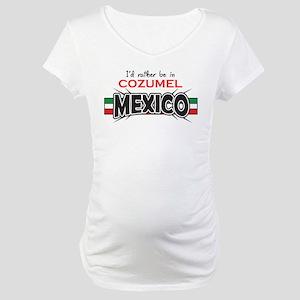 Cozumel Mexico Maternity T-Shirt